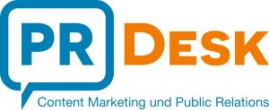 Logo PR Desk - klein